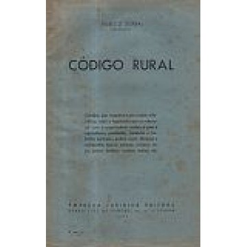 SERRA (EURICO) - CÓDIGO RURAL.