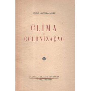 BOLÉO (OLIVEIRA) DR. - CLIMA E COLONIZAÇÃO.
