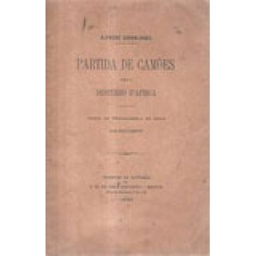 CARVALHÃES (ALFREDO) - PARTIDA DE CAMÕES PARA O DESTERRO D´ ÁFRICA