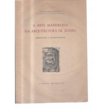 MANIQUE (LUIZ DE PINA) - A ARTE MANUELINA NA ARQUITECTURA DE ALVITO