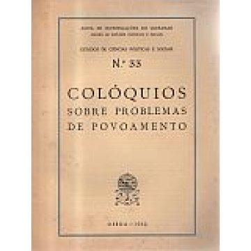 COLÓQUIOS - SOBRE PROBLEMAS DE POVOAMENTO.