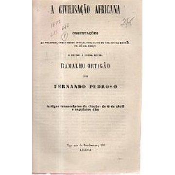 PEDROSO (FERNANDO) - CIVILISAÇÃO (A) AFRICANA.