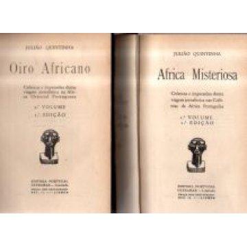 QUINTINHA (JULIÃO) - ÁFRICA MISTERIOSA- OIRO AFRICANO