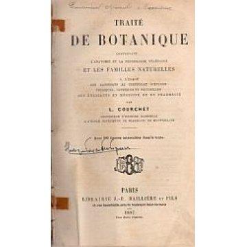 COURCHET (L.) - TRAITÉ DE BOTANIQUE.