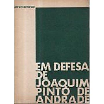 COELHO (MÁRIO BROCHADO) - EM DEFESA DE JOAQUIM PINTO DE ANDRADE.