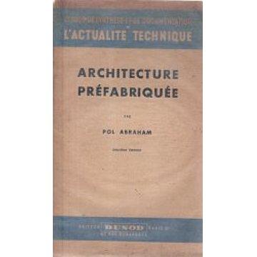 ABRAHAM (POL) - ARCHITECTURE PRÉFABRIQUÉE.