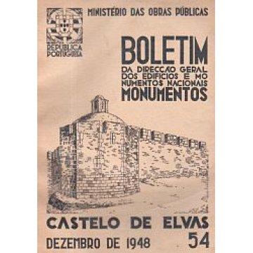 BOLETIM DA D.G.E.M.N. Nº 54 - CASTELO DE ELVAS