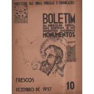 BOLETIM DA D.G.E.M.N. Nº 10 - CONSERVAÇÃO DE FRESCOS.