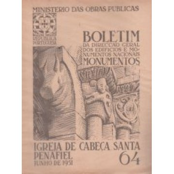 BOLETIM DA D.G.E.M.N. Nº 64 - IGREJA DE CABEÇA SANTA - PENAFIEL