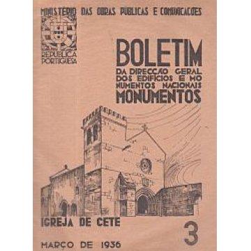 BOLETIM DA D.G.E.M.N. Nº 3 - IGREJA DE CETE
