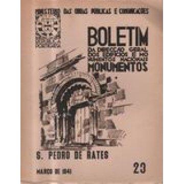 BOLETIM DA D.G.E.M.N. Nº 23 - IGREJA DE S. PEDRO DE RATES.