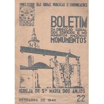 BOLETIM DA D.G.E.M.N. Nº 22 - IGREJA DE SANTA MARIA DOS ANJOS