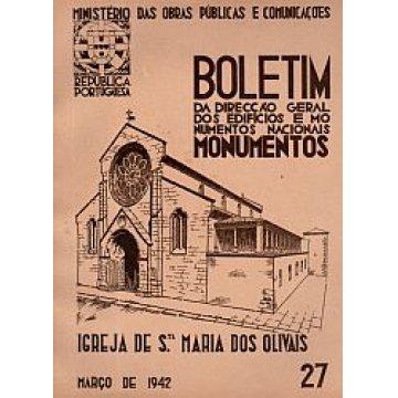 BOLETIM DA D.G.E.M.N. Nº 27 - IGREJA DE STA. MARIA DOS OLIVAIS