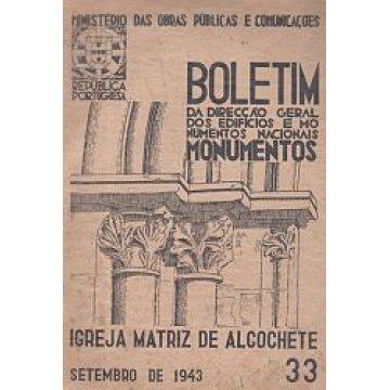 BOLETIM DA D.G.E.M.N. Nº 33 - IGREJA MATRIZ DE ALCOCHETE