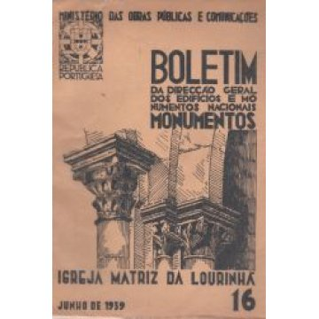 BOLETIM DA D.G.E-M.N. Nº 16 - IGREJA MATRIZ DA LOURINHÃ