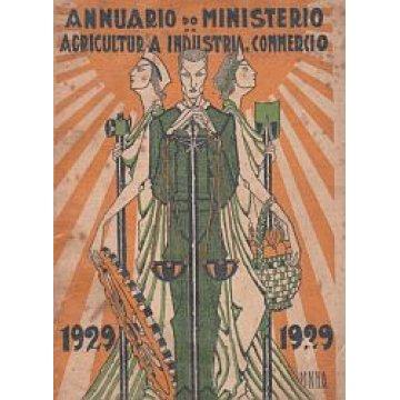 ANNUÁRIO (1929). - MINISTÉRIO DA AGRICULTURA, INDÚSTRIA E COMMERCIO.