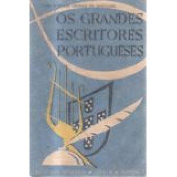 CARVALHO (JOSÉ GONÇALO CHORÃO DE) - OS GRANDES ESCRITORES PORTUGUESES