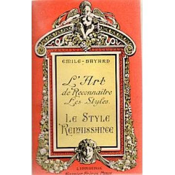 BAYARD (EMILE) - L´ ART DE RECONNAITRE LES STYLES.
