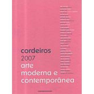 CATÁLOGO CORDEIROS 2007 - ARTE MODERNA E CONTEMPORÂNEA.