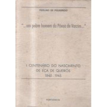 FIGUEIREDO (FIDELINO DE ) - ...UM POBRE HOMEM DA PÓVOA DE VARZIM...